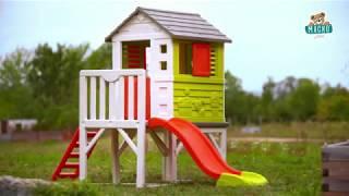 Gyerek házikó pilléreken Pilings House Smoby 1,5 m