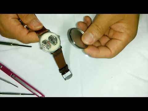 손목시계 건전지 교환 방법과 뚜껑 여는 법 �