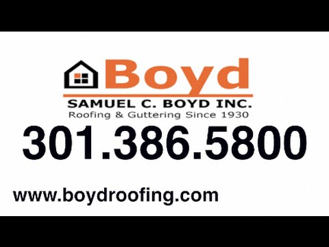 Slate Roof Repair in Washington DC  Boyd Roofing