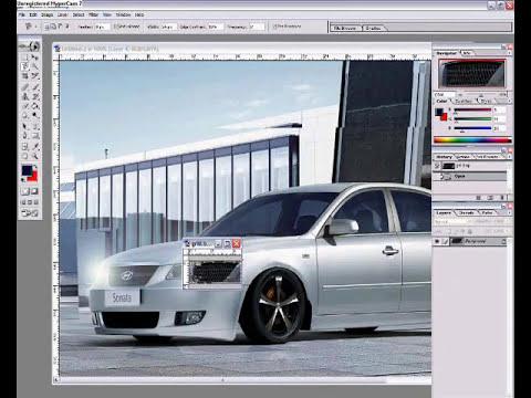 Photoshop Virtual Tuning Car Modding 2006 Hyundai