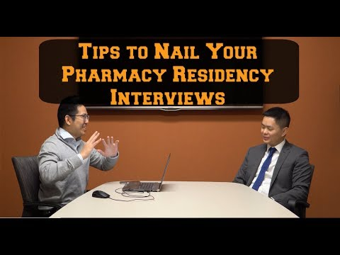 Tips to Nail Your Pharmacy Residency Interviews