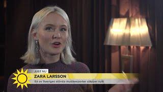"""Zara Larsson om framtiden: """"Jag vill ha en stor världsturné – jag vill nå Gram… - Nyhetsmorgon (TV4)"""