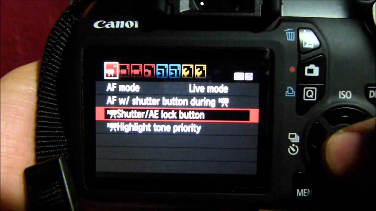 canon t3 manual expsoure in video mode youtube rh youtube com Canon T3i Bundles Canon 430EX II Manual
