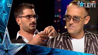 No encontrarás explicación a este TRUCO de MAGIA con cartas | Audiciones 10 | Got Talent España 2021