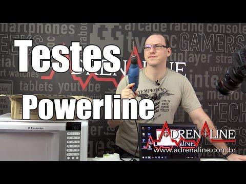 Azucrinando a conexão Powerline com outros eletrônicos na rede elétrica