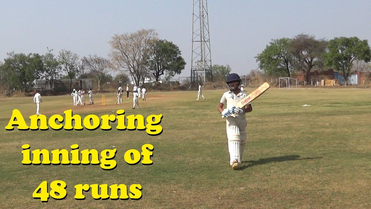 Angad's Anchoring inning of 48 runs, HK Bounce vs Sahara Cricket Academy