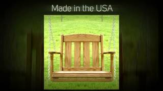 Amish Outdoor Furniture Mission Swing Chair