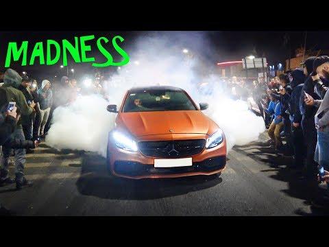Boy Racers SHUT DOWN Street at Car Meet