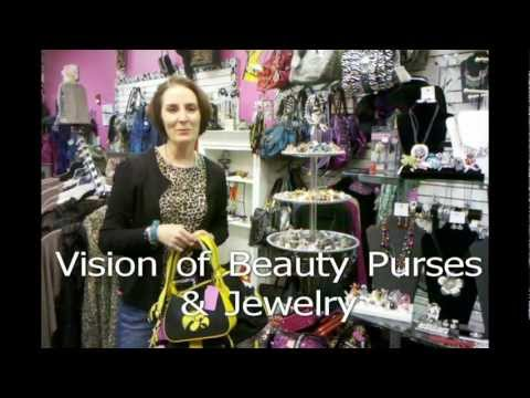 Funky Zebras Boutique College Purses and Jewelry.mp4