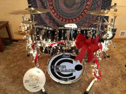 SURPRISING DRUMMER With DREAM SET For CHRISTMAS