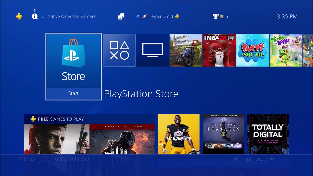How To Delete Game Disc Version on PS4 - YouTube