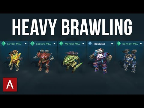 HEAVY BRAWLING with MY BEST ROBOTS! / Champion League / War Robots Gameplay