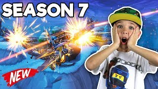 PLANE CRASH in FORTNITE SEASON 7, DUOS, GAMEPLAY, NEW SKINS, GUN SKINS und MEHR!!!