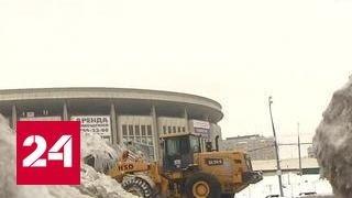 Аварии на дорогах и горы снега: в Москве выпала месячная норма осадков