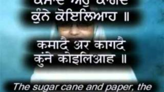 """Salok Sheikh Farid Ji"" 1/2 Hindi/Punjabi Captions & Translation"