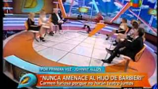 Carmen Barbieri vs Johnny Allon