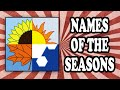 Why We Call The Seasons Summer Autumn Winter And Spring mp3