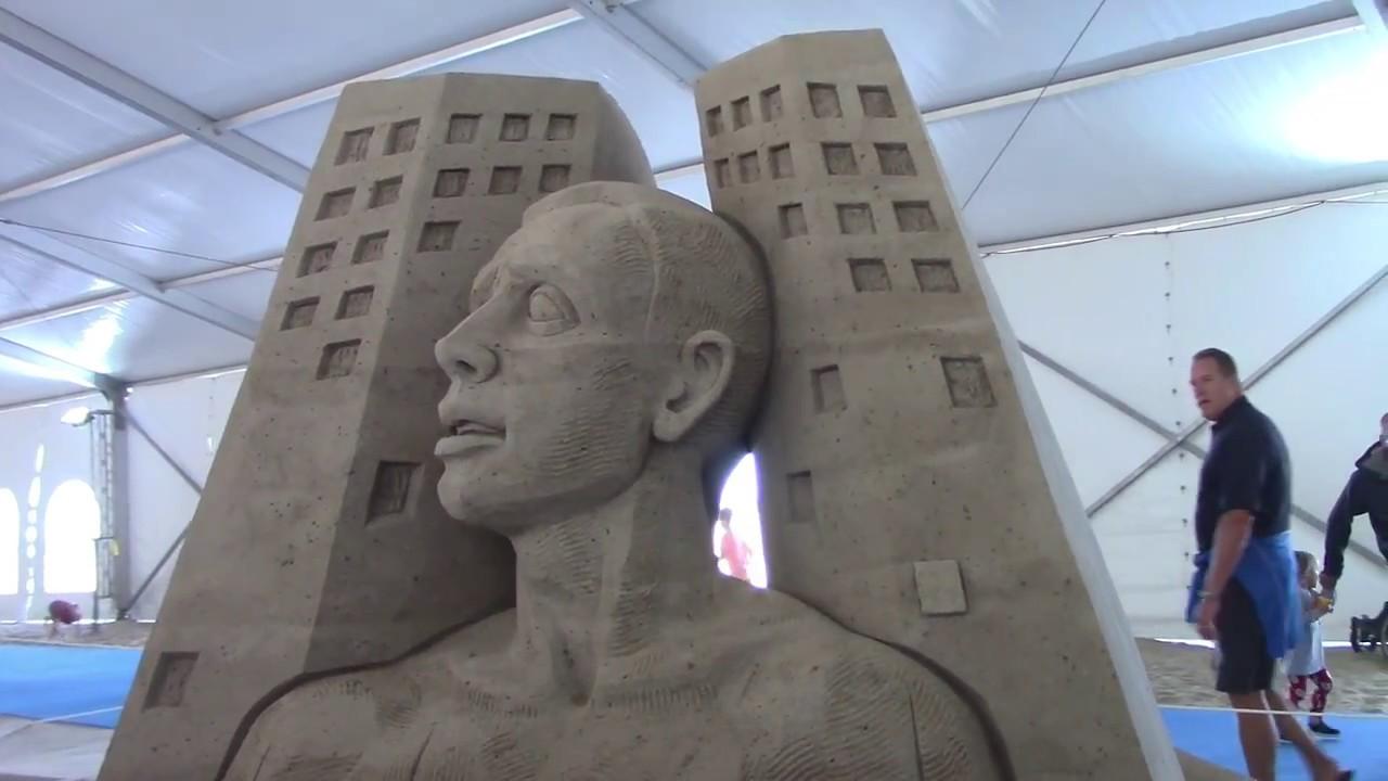 Sand Sculptures Neptune Festival 2017 Virginia Beach Va