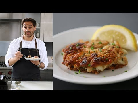 How to Make Crisp and Tender Crab Cakes