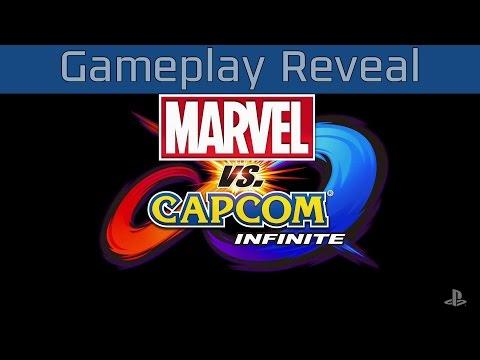Marvel vs. Capcom Infinite - Gameplay Reveal [HD 1080P/60FPS]