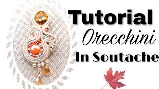 Tutorial Soutache - Orecchini - Co Beads