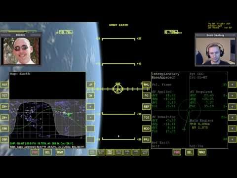 Orbiter 2010 - [Part 5] IMFD Training with Dimitris - Moon to Earth