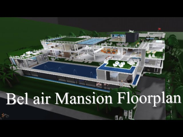Bel Air Mansion Build Layout Youtube