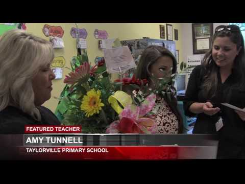 FEATURED TEACHER: AMY TUNNELL - TAYLORVILLE PRIMARY SCHOOL