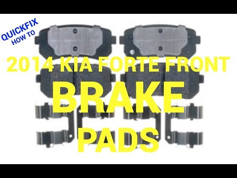 🤔 How to replace rear brake pads on a 2014-2017 Kia Forte😁 : Cinnaminson