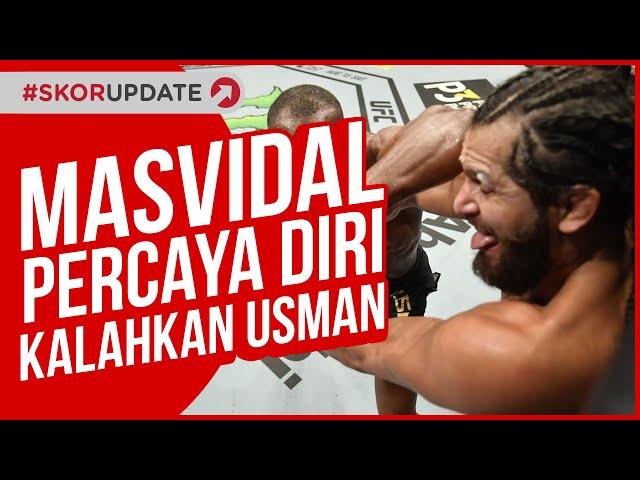 UFC 261, JORGE MASVIDAL MEMILIKI PERSIAPAN KHUSUS JELANG BERTEMU KAMARU USMAN