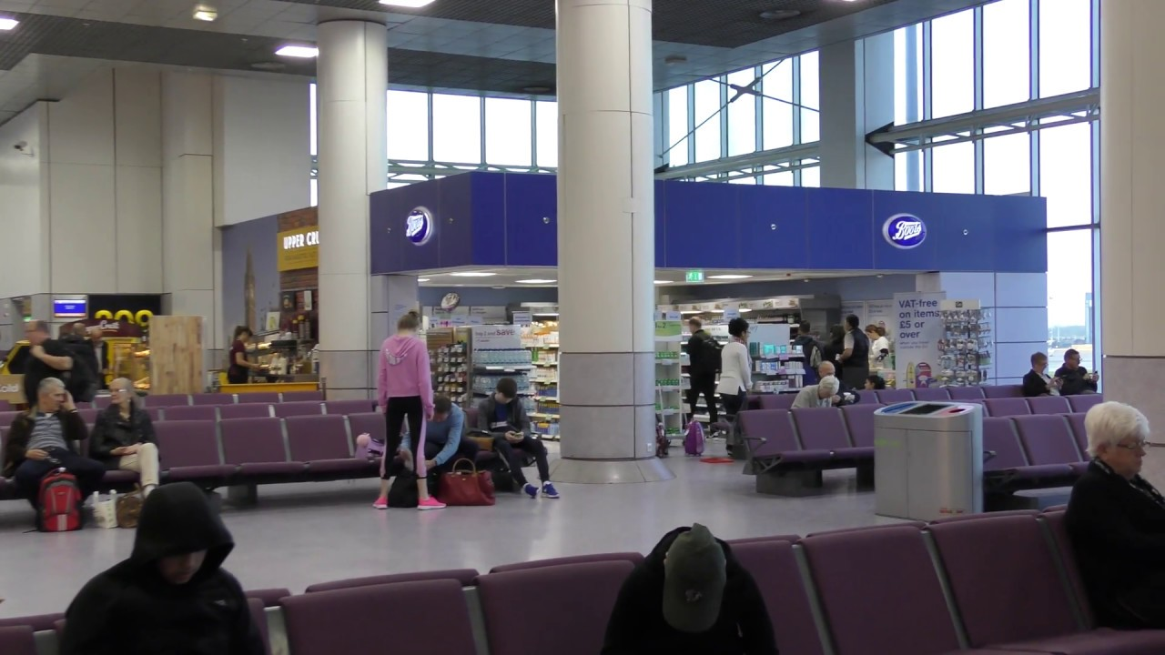 Departures And Duty Free Area Terminal 2 Manchester Airport