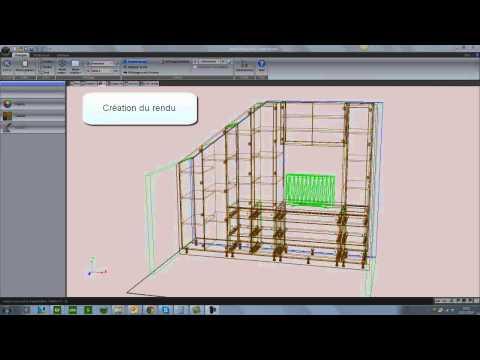 Cabinet Vision - Création d'un meuble sous-pente