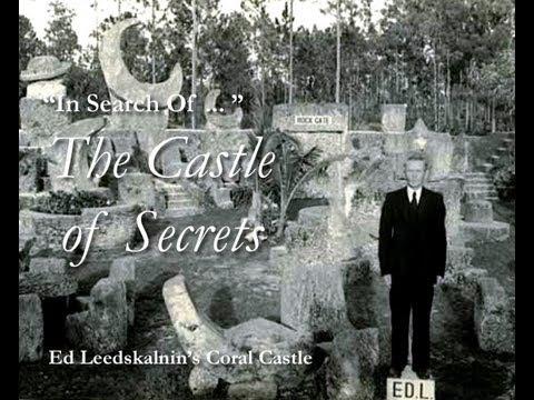 In Search Of   Ed Leedskalnins Coral Castle Pt  3