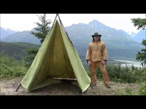 Making A Tent From A Tarp