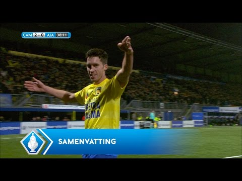 Highlights KNVB Beker: Cambuur Leeuwarden - Ajax  (15/12/2016)