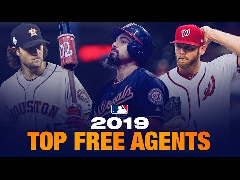 Nfl Free Agents 2020 List.Top 20 Mlb Free Agents For 2019 2020 Hot Stove Season