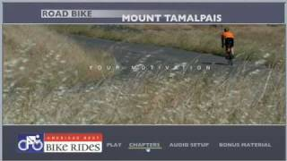 Indoor Cycling Training DVD - Mt. Tam in Marin County, California