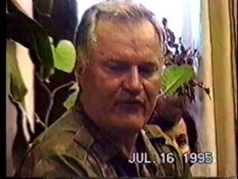 Genocidasi - Mladic, Karadzic (VMA Beograd, 16 Juli 1995)