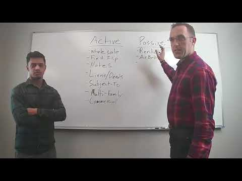 Difference Between Active and Passive Income - Episode 2