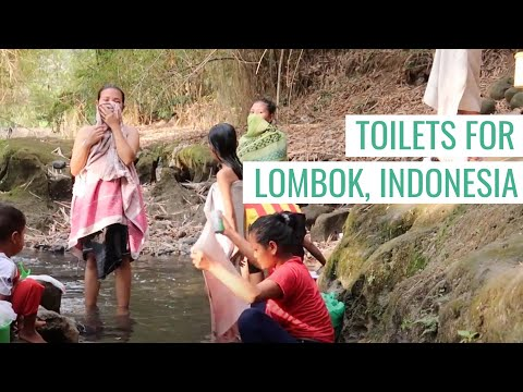 TOILETS FOR LOMBOK - LOMBOK, INDONESIA EARTHQUAKE 2018