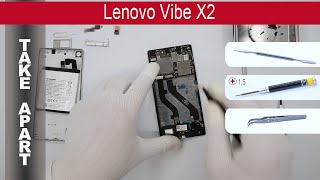 How to disassemble Lenovo Vibe X2 (X2PA3), Take Apart, Tutorial(How to disassemble Lenovo Vibe X2 (X2PA3) by himself. Disassembly (take apart) and repair smartphone Lenovo Vibe X2 at home with a minimal set of tools., 2015-06-23T15:59:08.000Z)