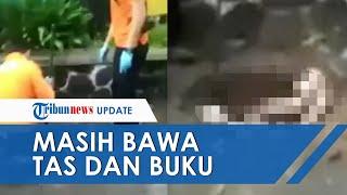 Mayat Siswi SMP yang Ditemukan di Gorong-gorong Pakai Seragam Pramuka, Tas dan Buku Masih Melekat