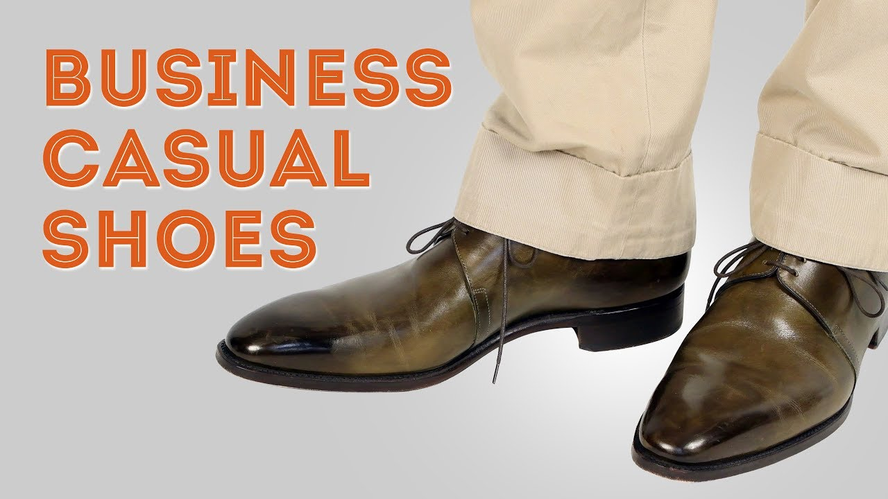 Business Casual Shoes — Gentleman's