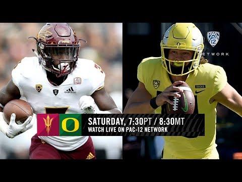 Oregon Ducks football vs. Arizona State Sun Devils: TV channel, How to watch live stream online