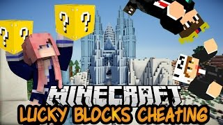 How to Cheat   Ep. 2   Lucky Block Parkour PVP Map