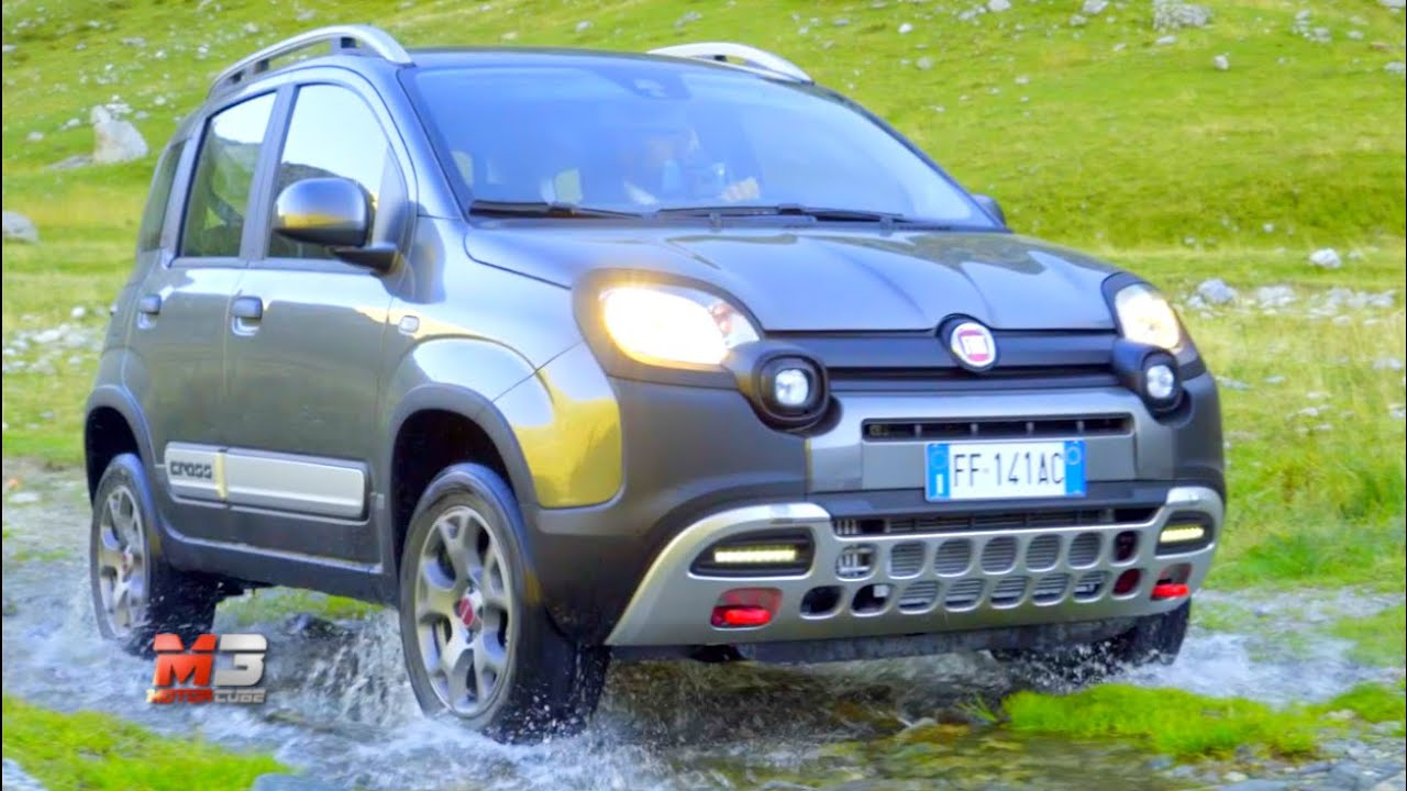 new fiat panda cross 4x4 2017 first test drive off road. Black Bedroom Furniture Sets. Home Design Ideas