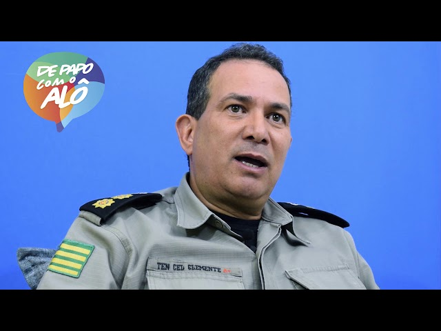 De Papo com o Alô - Tenente - Coronel Alberto Clemente