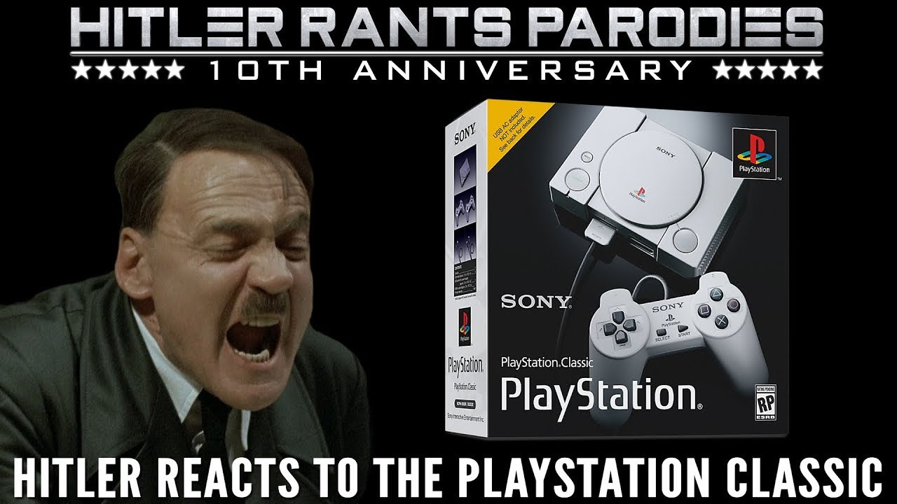 Hitler reacts to the PlayStation Classic