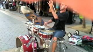 Dirk Ellis: Crappy drumset, amazing drummer (HD) thumbnail