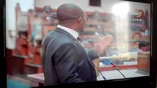 Nelson Chamisa blasting absent ministers in Parliament